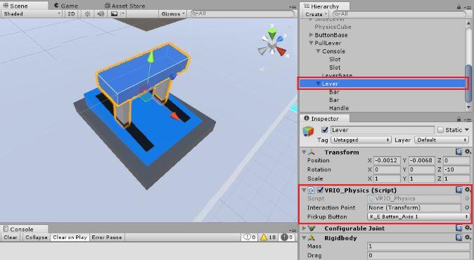 Intro to Vive Development : Interactive Examples | Circuit