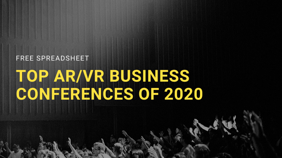 top vr/ar events of 2020