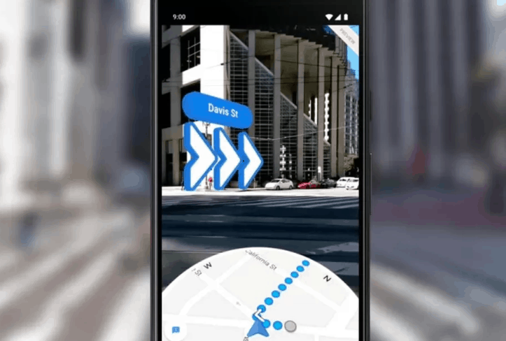 Google map live example