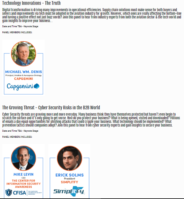 PBExpo Keynotes
