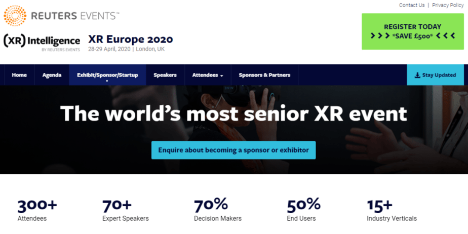 XR Intelligence 2020