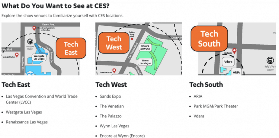CES Event Location