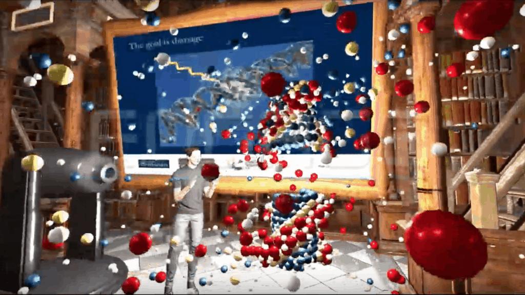VR remote classroom