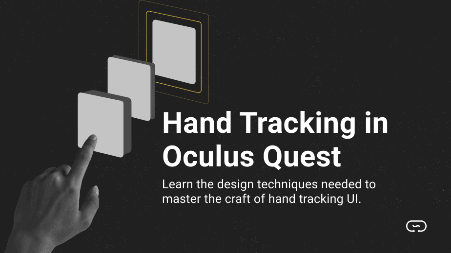 hand tracking for oculus quest
