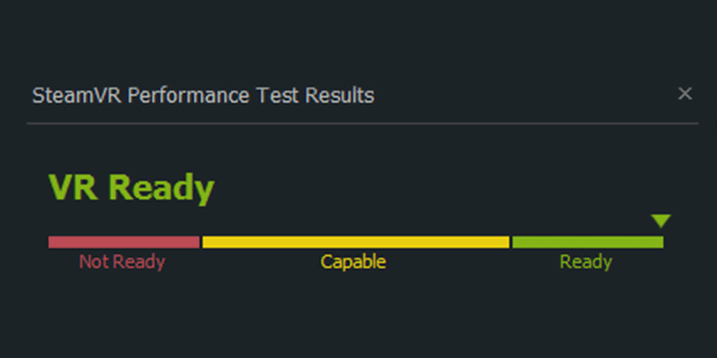 steam vr performance
