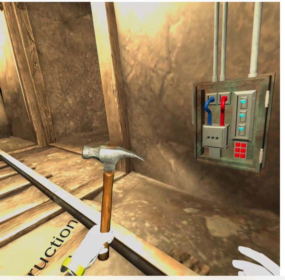 VR training - crane