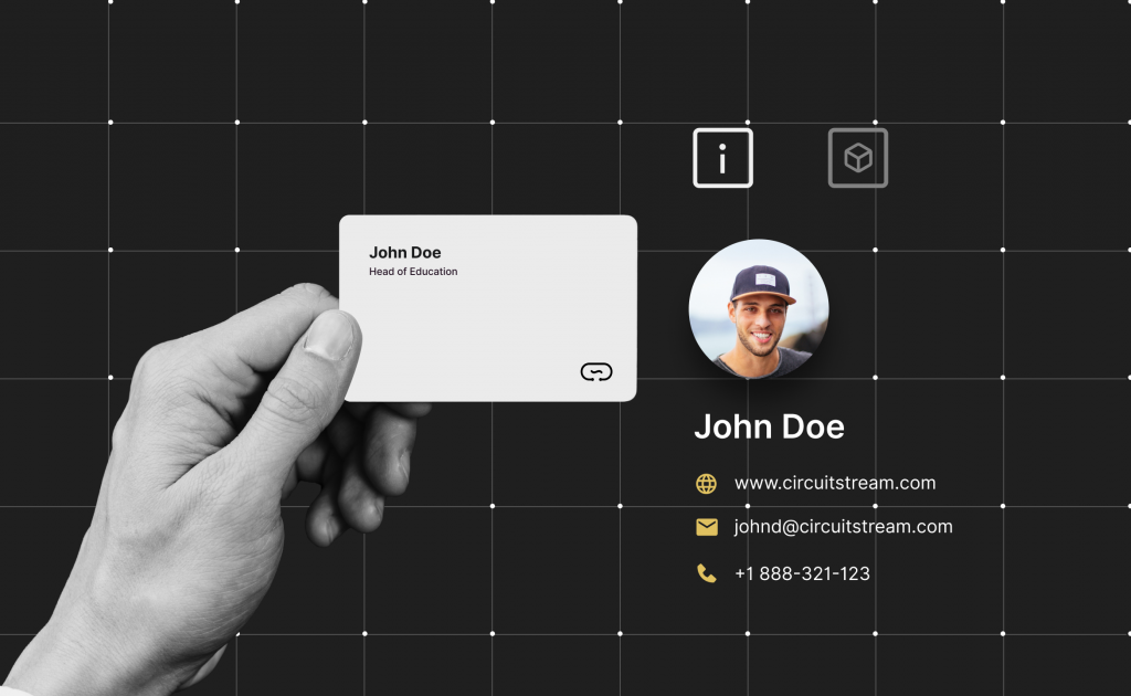 how to create your own ar business card  circuit stream