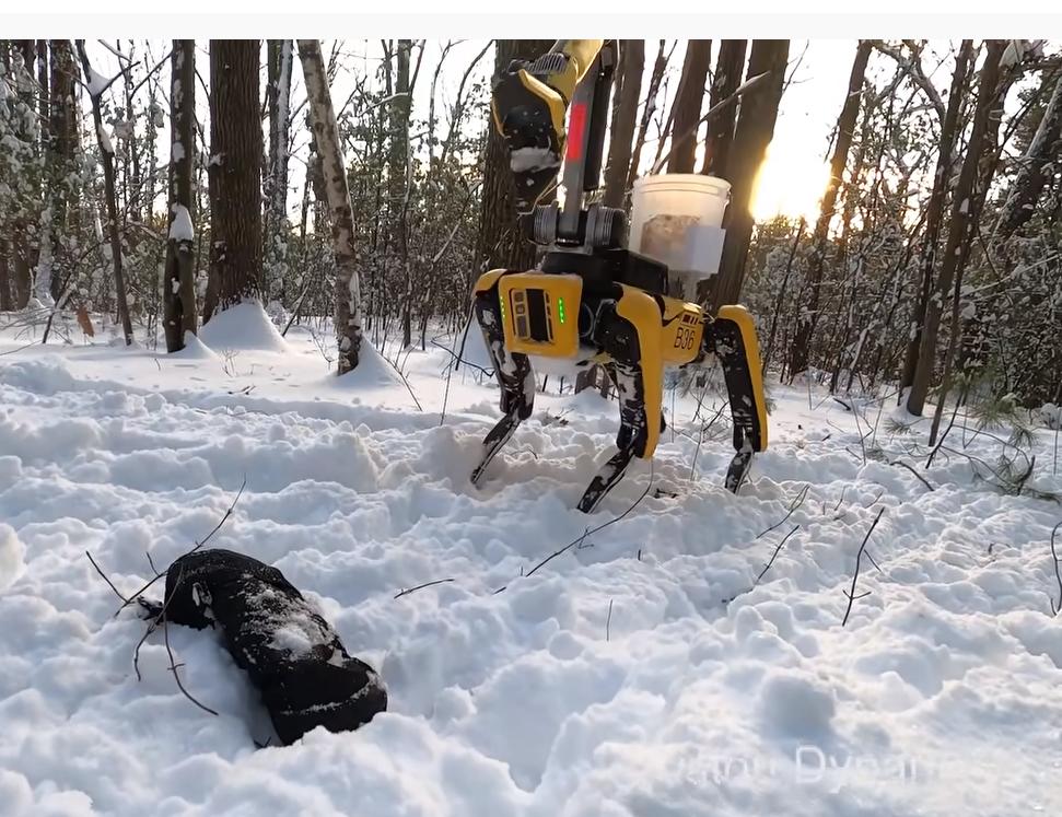 robot dog spot BD