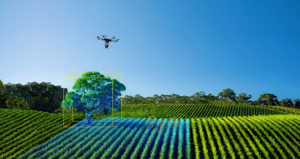 drone with lidar