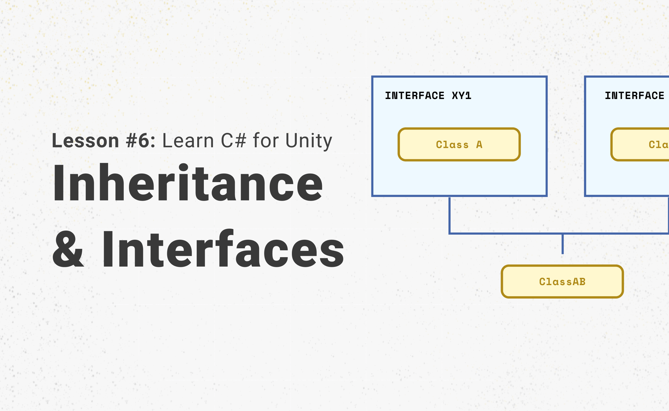 Unity and Inheritance and Interfaces